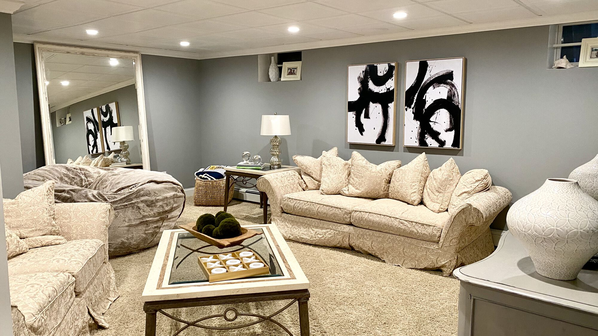 Finished Basement Rec Room in Sussex County NJ