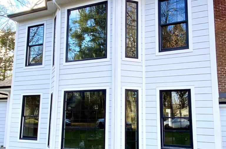 HardiePlank Siding and Trim, Andersen Windows in Ramsey, Bergen County NJ