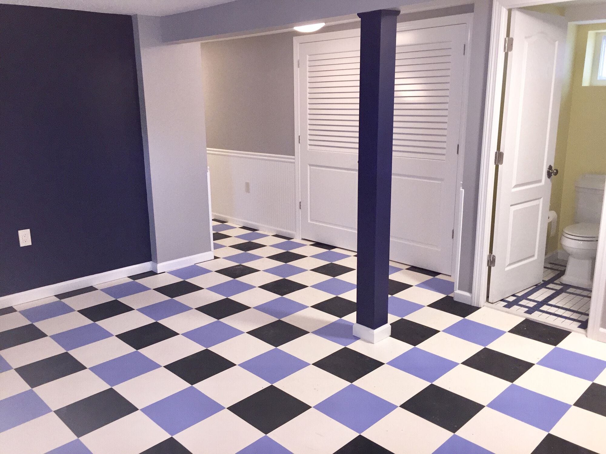 Basement Finishing with Full Bathroom in Jersey City, Hudson County NJ