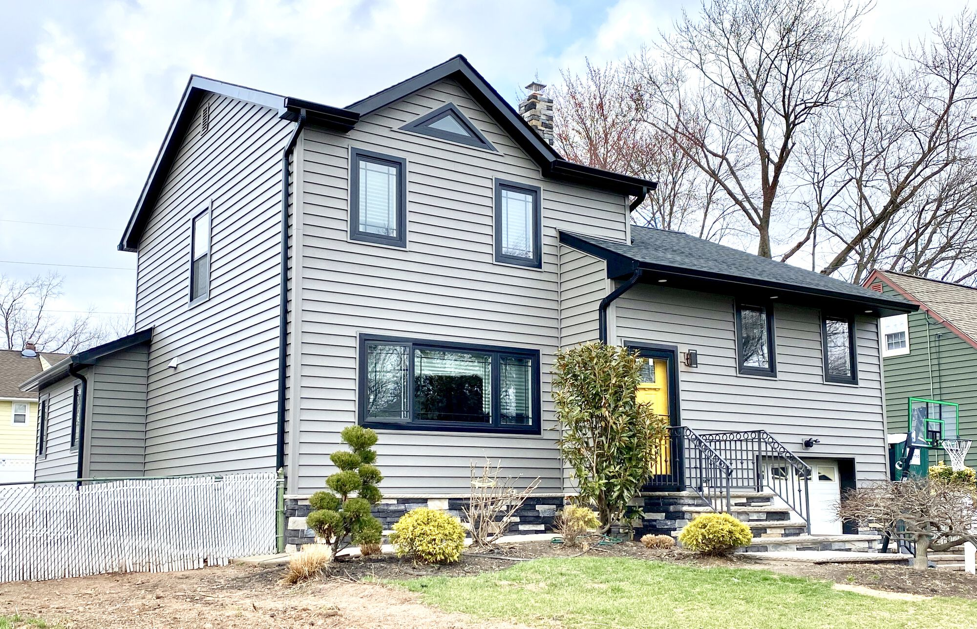 Add-a-Level Addition with Prodigy Siding, GAF Roofing, Andersen Windows in Cranford, Union County NJ
