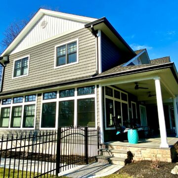 New Front Porch and Steps in Bergen County NJ