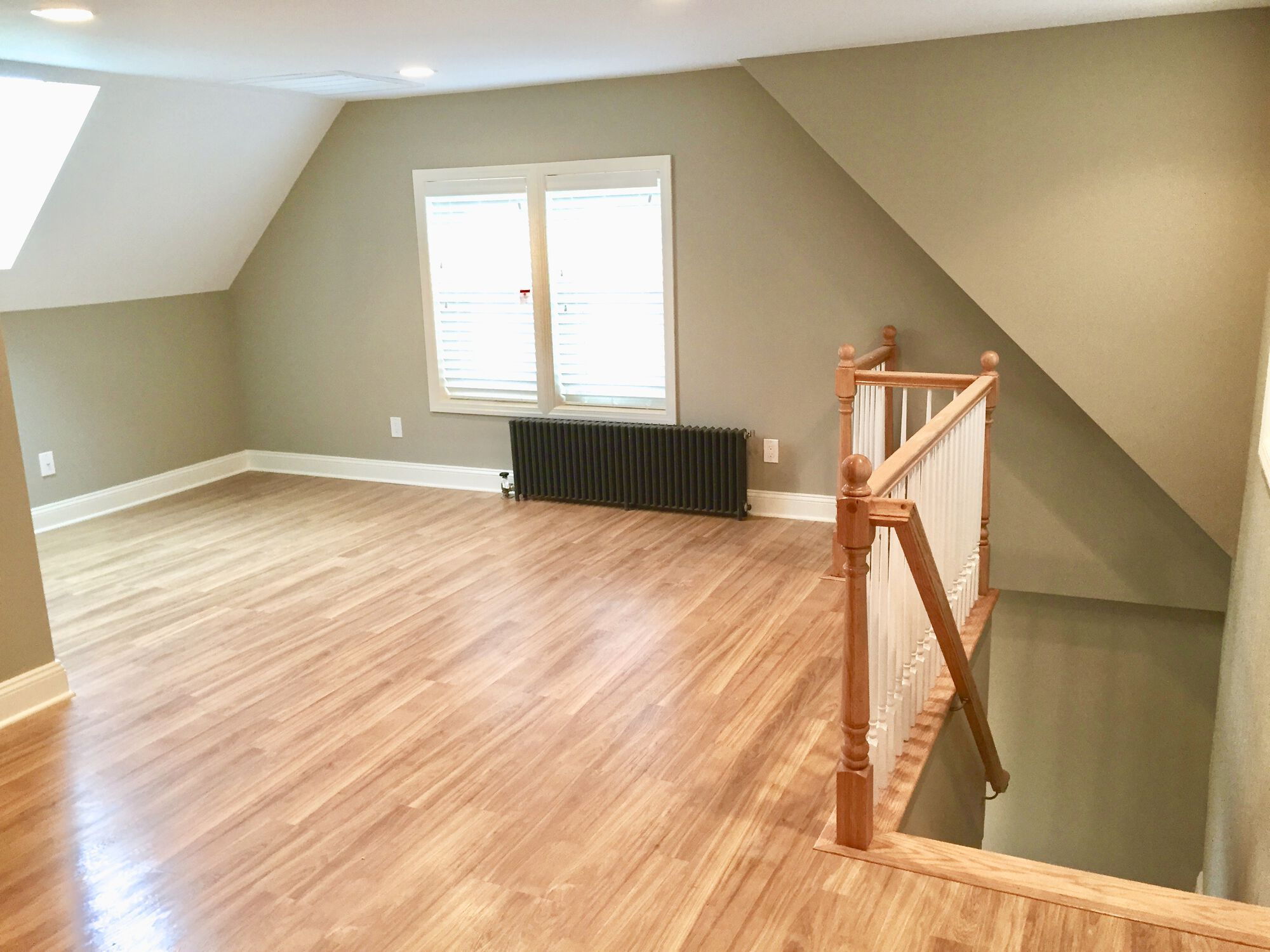 Attic Finishing with Dormer in New Brunswick, Middlesex County NJ