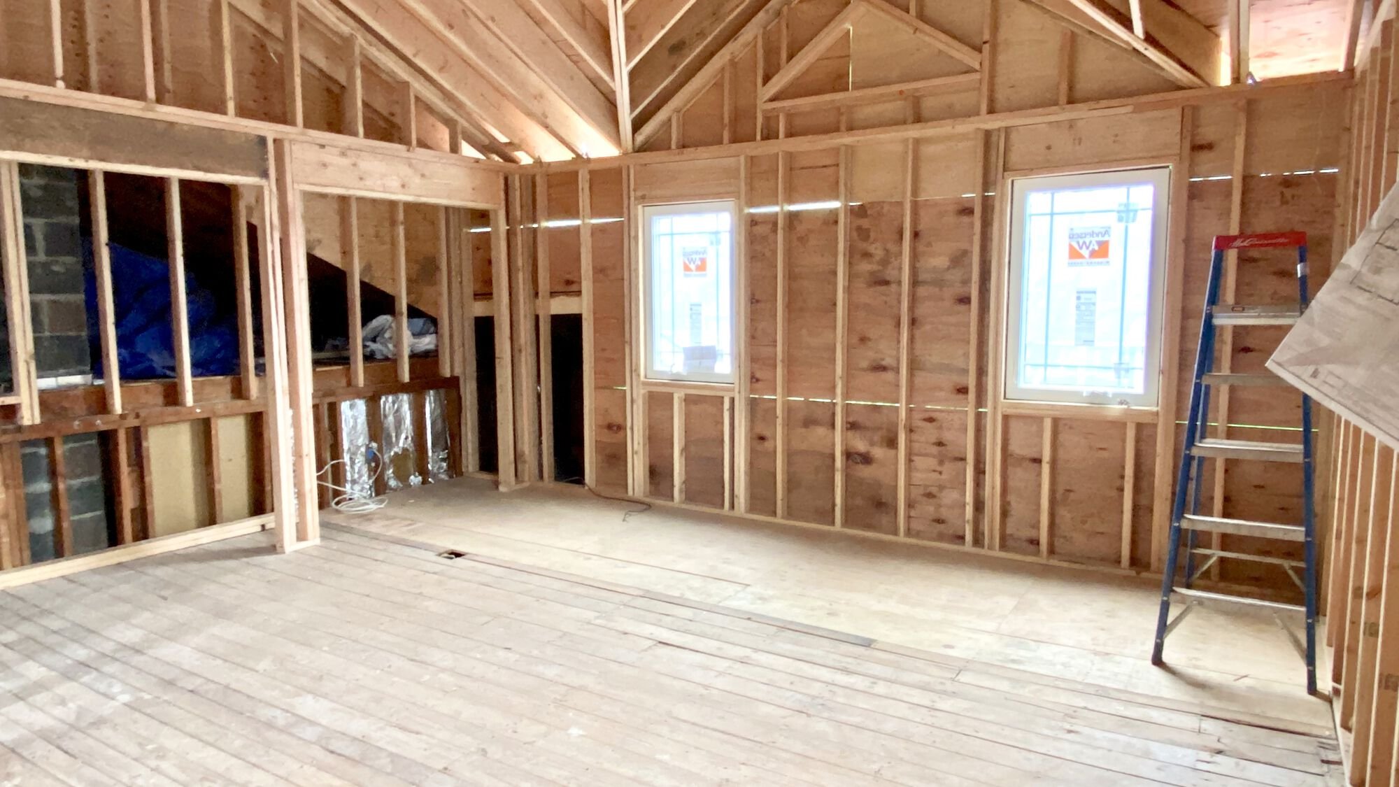 Bedroom Addition with Wood Floors, Andersen Windows, Master Bath in Union County NJ