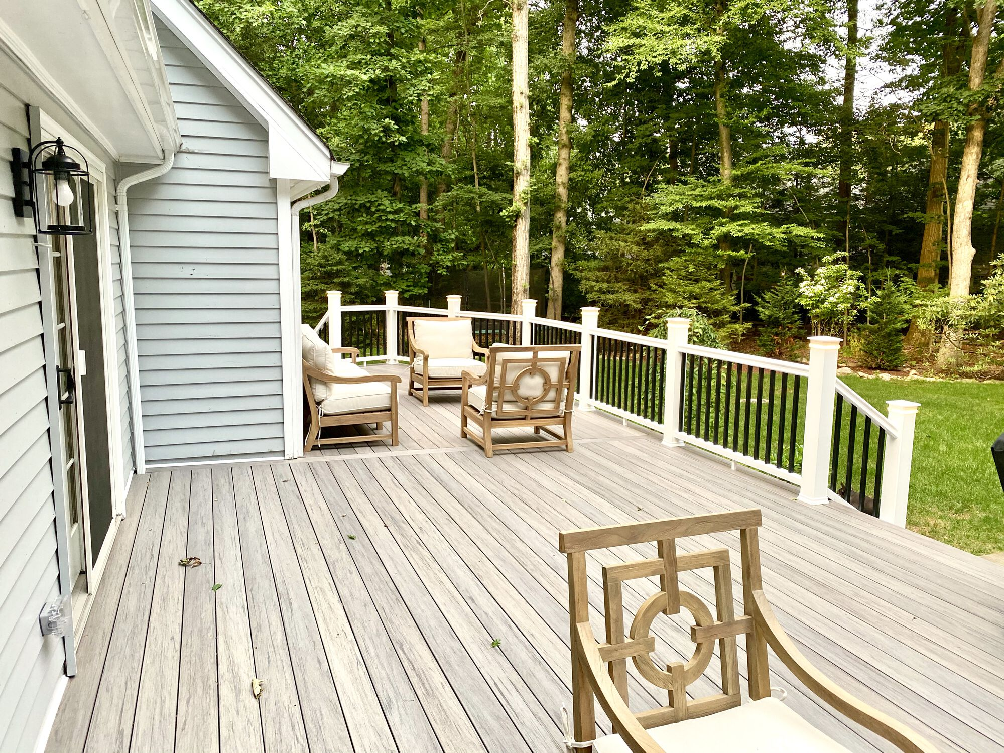 Timbertech Pro Legacy Collection Ashwood Decking in Franklin Lakes, Bergen County NJ