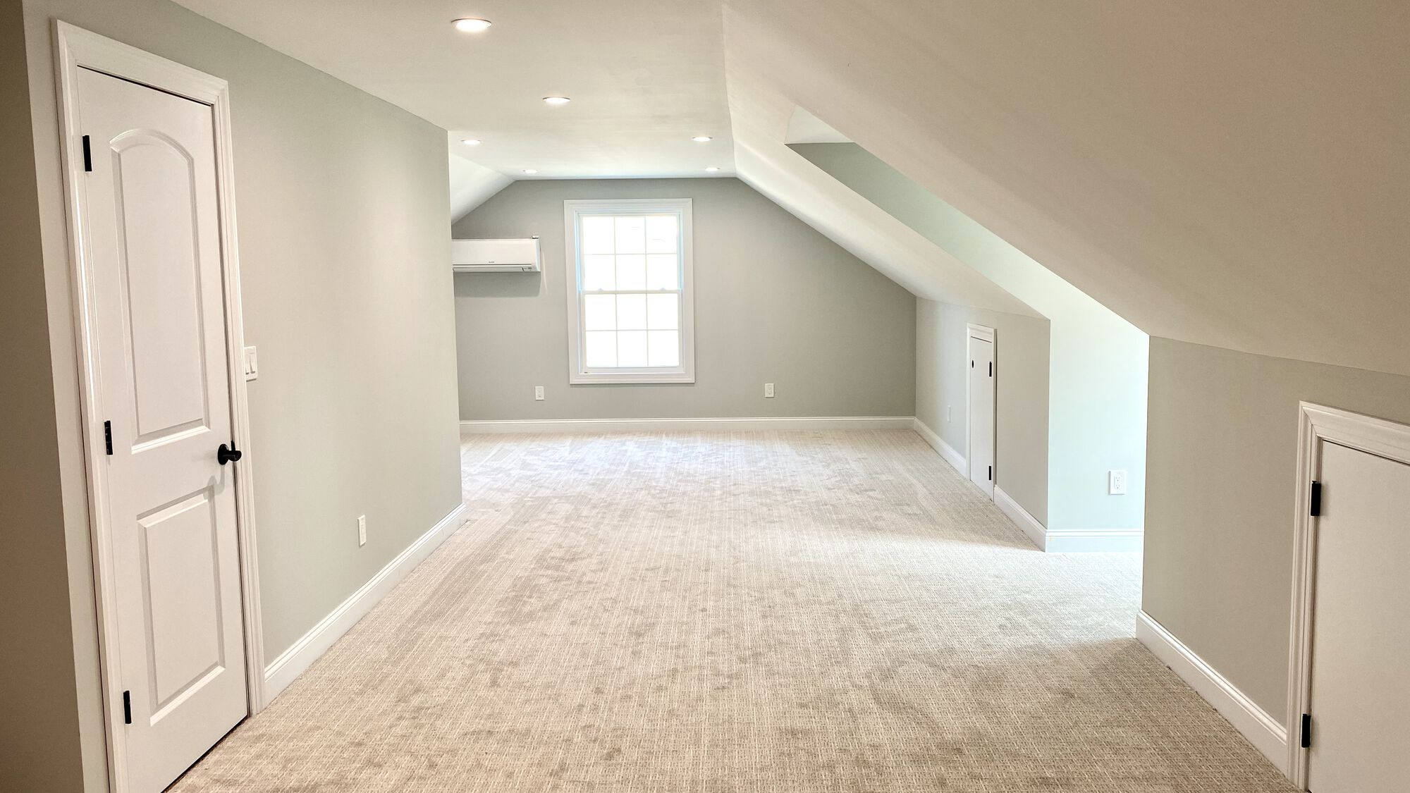 Attic Finished with Dormers, HVAC, Electrical Wiring, Office Space and Storage in Westfield, Union County NJ (1)