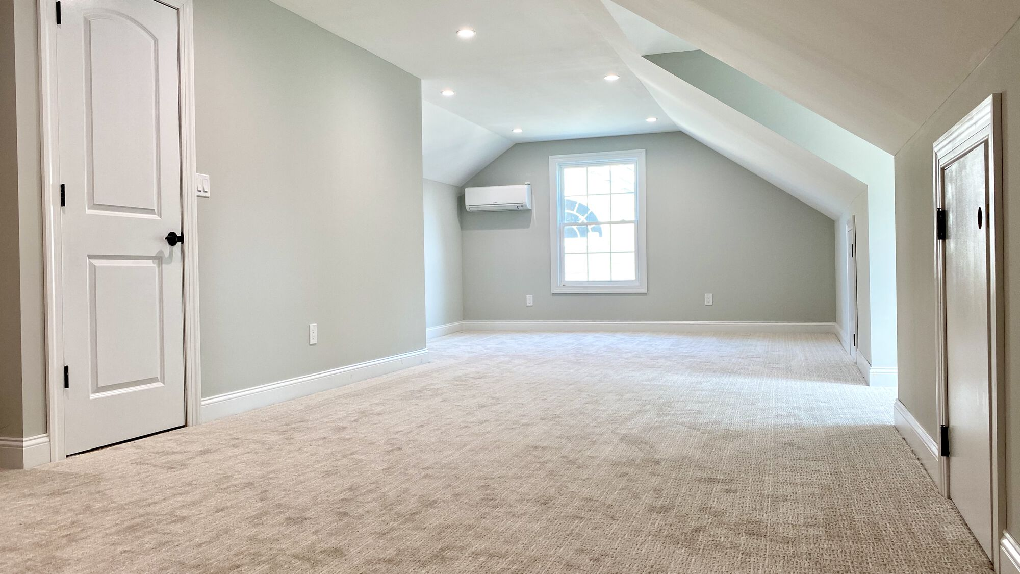 Attic Finished with Dormers, HVAC, Electrical Wiring, Office Space and Storage in Westfield, Union County NJ