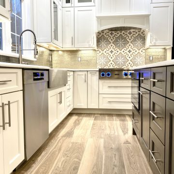 Brighton Custom Wood Cabinets and Custom Wood Hood in Central Jersey