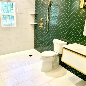 ADA Accessible Bathroom with Zero Clearance Shower _ Greenbrook Somerset County NJ