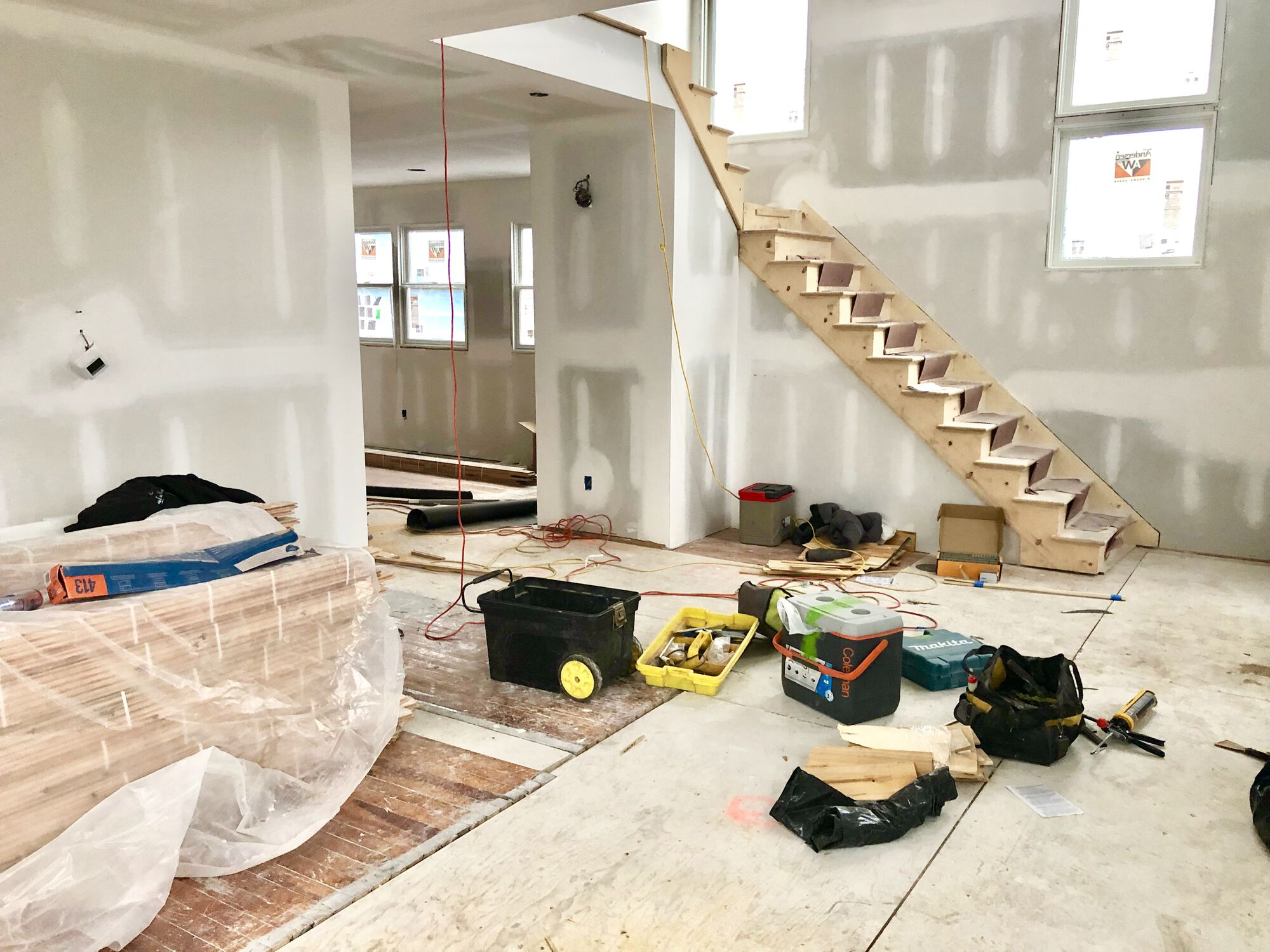 Addition with Two Story Foyer in Bergen County NJ