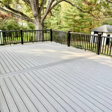Composite Deck and Rails in Summit, Union County NJ