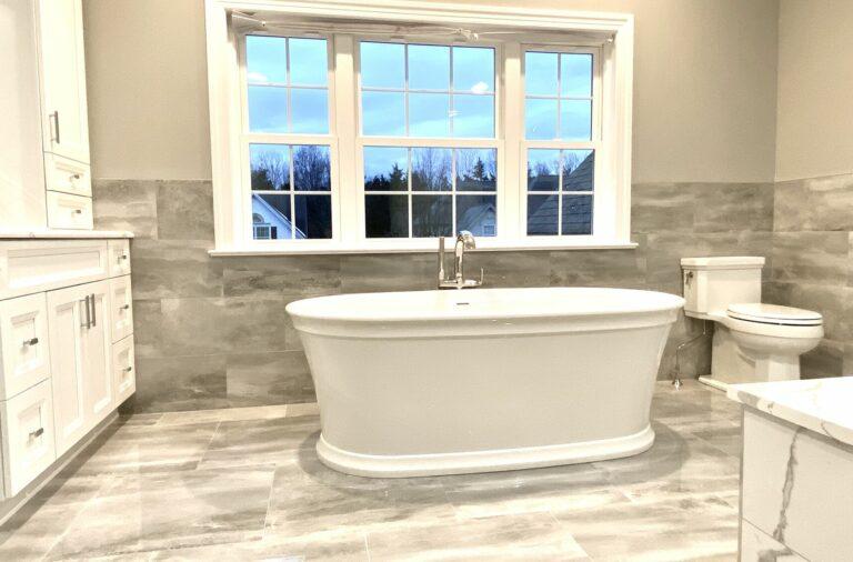Bathroom Remodeling with Kohler Fixtures and Porcelain Tile _ Somerset NJ