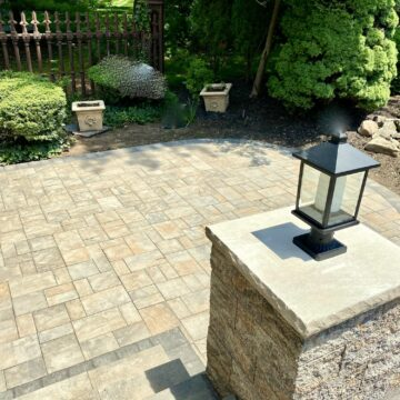 Cambridge Patio and Piers in Oradell, Bergen County