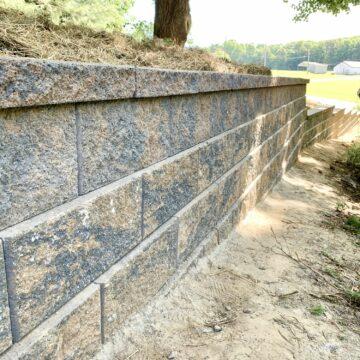 Cambridge Sigma Retaining Walls in Flanders, Morris County NJ