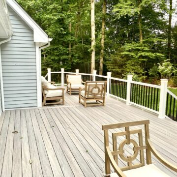 Deck Remodeling with Timbertech Capped Composite in Franklin lakes, Bergen County NJ