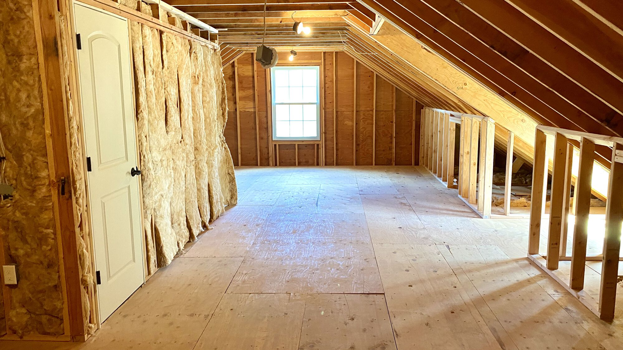 Finished Attic with Dormers in Westfield, Union County NJ