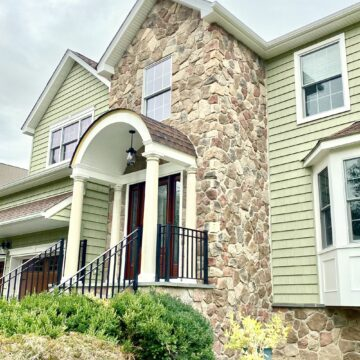 Boral Cultured Stone for Porch, Steps and Foundation in Boonton, Morris County NJ