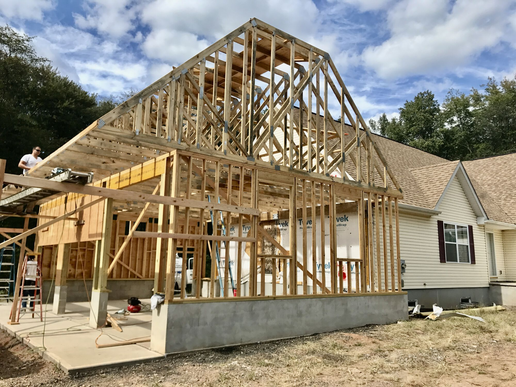 7 Garage Addition in Manalapan, Monmouth County NJ