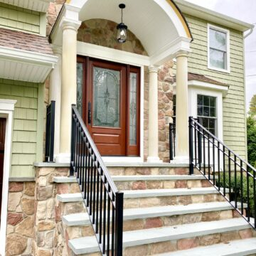Stonefront and Steps in Boonton Morris County