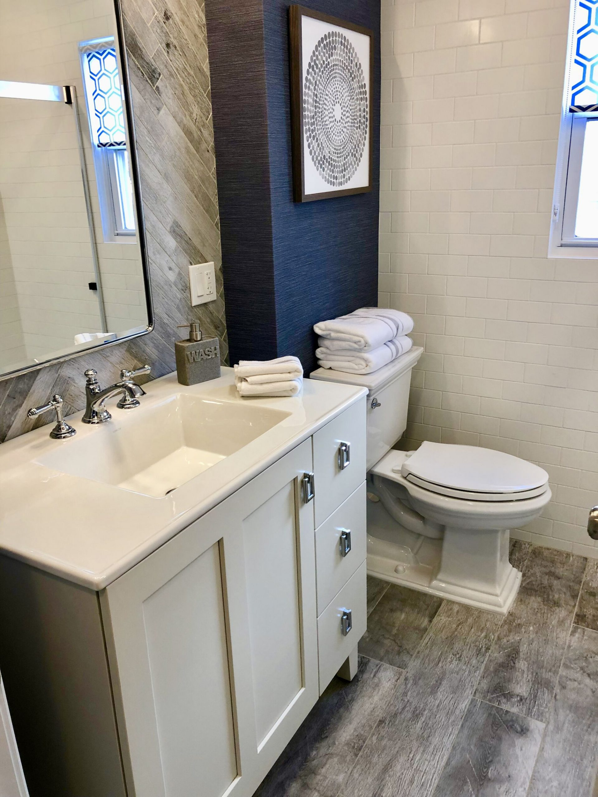Bathroom Remodeling with Kohler Faucets and Fixtures, Custom Paneling _ Trim in Union, Union County NJ