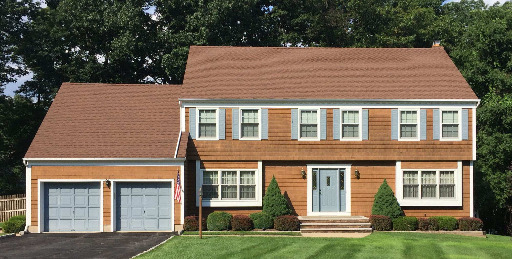 Certainteed Cedar Impressions Perfection Shakes and GAF HD Roofing in Cedar Knolls, Morris County NJ