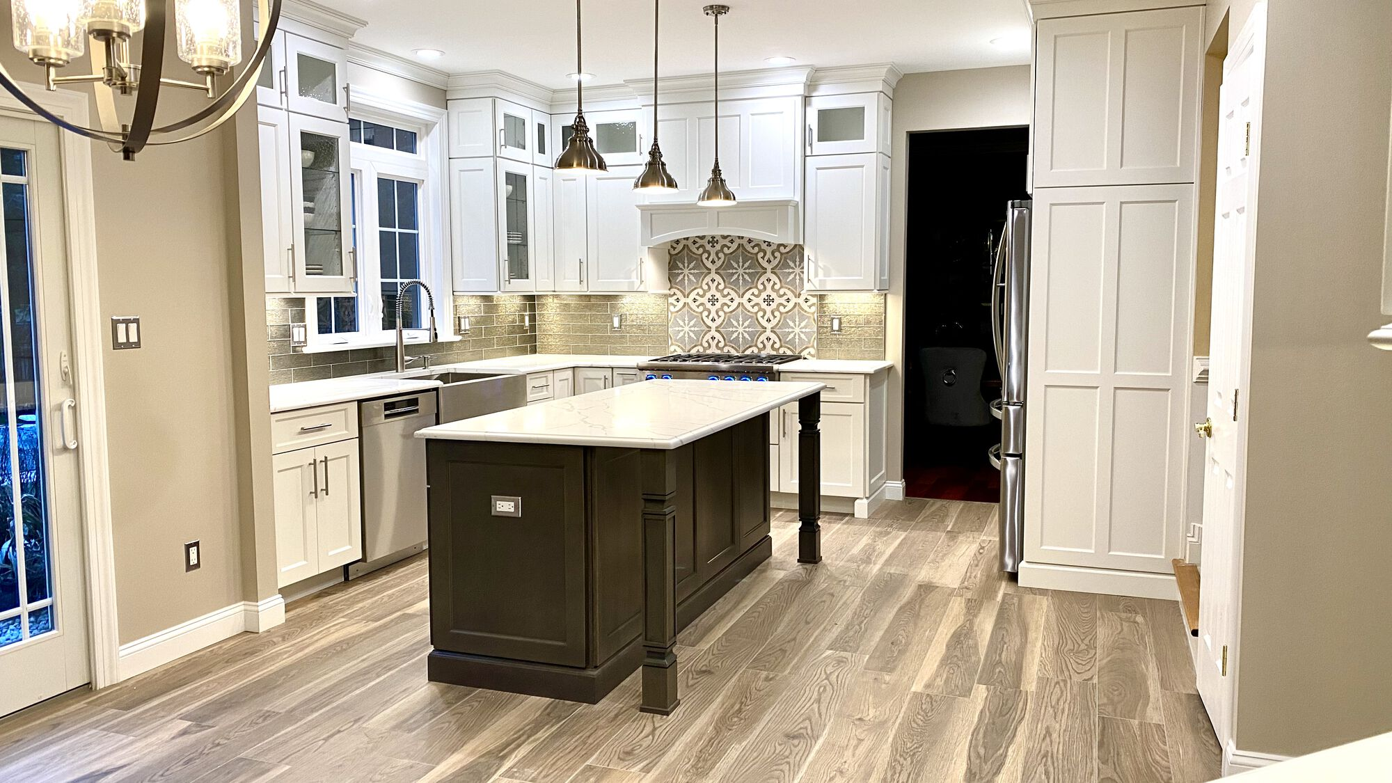 Custom Kitchen with Brighton Cabinetry in Somerset, Somerset County NJ